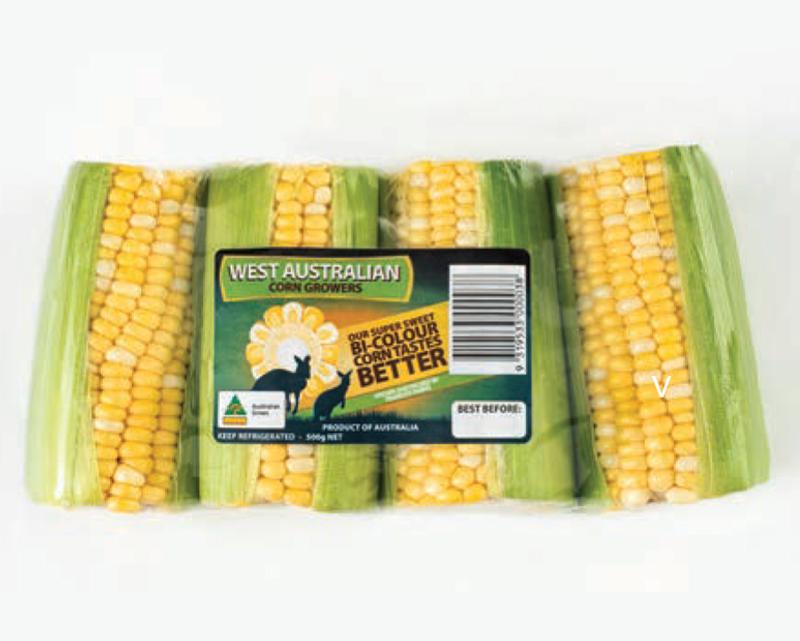 Pre-pack Corn - 4 Pack - Bi-colour (500g)