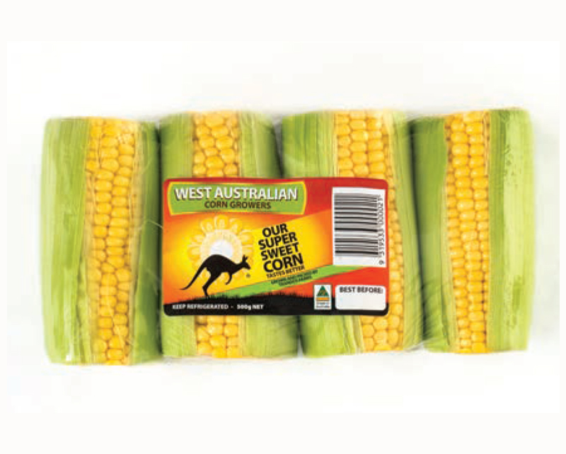 Pre-pack Corn - 4 Pack - Yellow (500g)